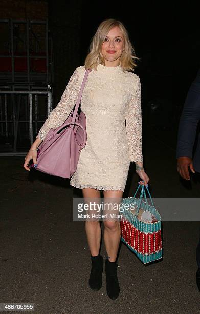Fearne Cotton leaving Riverside Studios after filming Celebrity Juice on May 7 2014 in London England