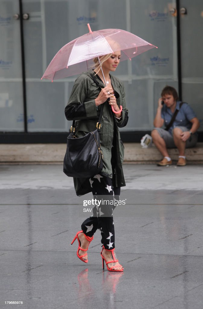 Fearne Cotton pictured leaving the BBC studios on September 6, 2013 in London, England.