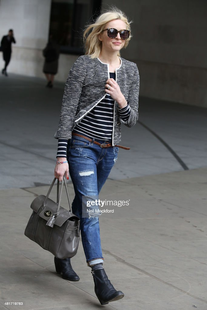 <a gi-track='captionPersonalityLinkClicked' href=/galleries/search?phrase=Fearne+Cotton&family=editorial&specificpeople=211497 ng-click='$event.stopPropagation()'>Fearne Cotton</a> seen arriving at BBC Radio One on March 31, 2014 in London, England.