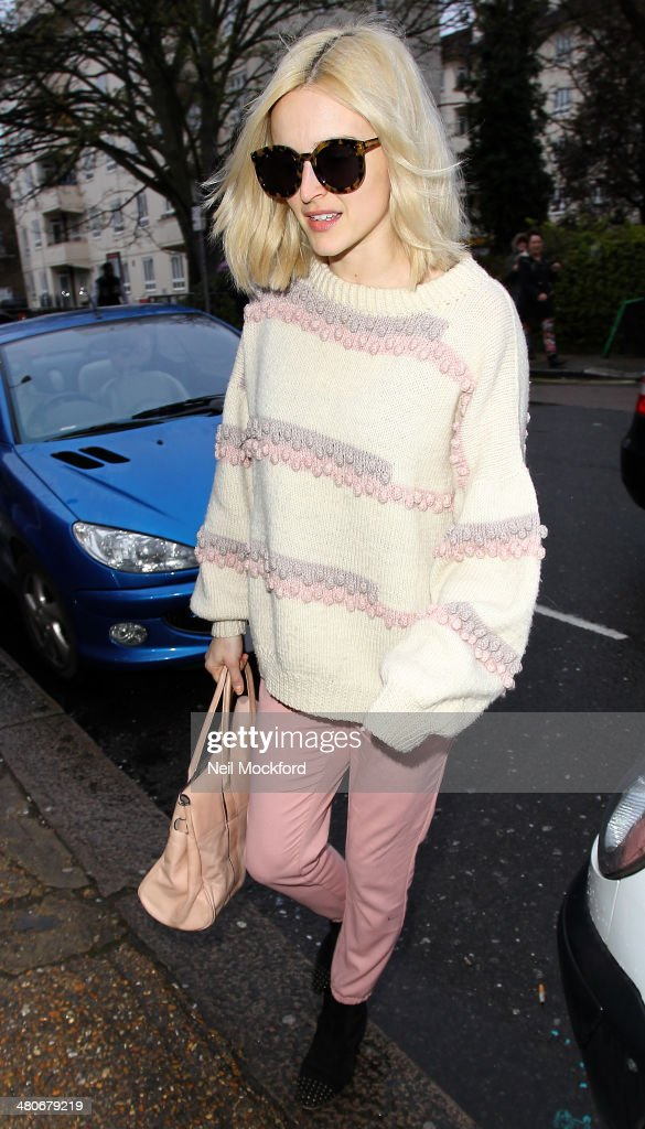 <a gi-track='captionPersonalityLinkClicked' href=/galleries/search?phrase=Fearne+Cotton&family=editorial&specificpeople=211497 ng-click='$event.stopPropagation()'>Fearne Cotton</a> seen arriving at Riverside Studios to film Celebrity Juice on March 26, 2014 in London, England.