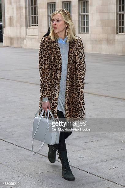 Fearne Cotton seen at BBC Radio One on February 9 2015 in London England