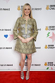 Fearne Cotton shows her support for BBC Children in Need at Elstree Studios on November 13 2015 in Borehamwood England