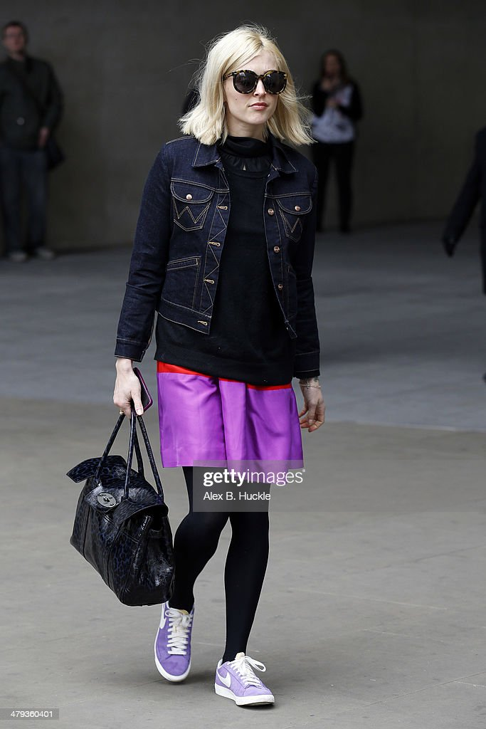 <a gi-track='captionPersonalityLinkClicked' href=/galleries/search?phrase=Fearne+Cotton&family=editorial&specificpeople=211497 ng-click='$event.stopPropagation()'>Fearne Cotton</a> sighted leaving Radio 1 on March 18, 2014 in London, England.