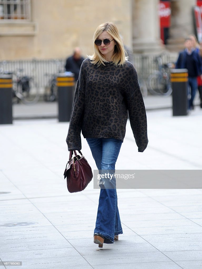 Fearne Cotton sighting at Radio 1 on March 27, 2015 in London, England.