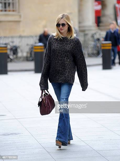 Fearne Cotton sighting at Radio 1 on March 27 2015 in London England