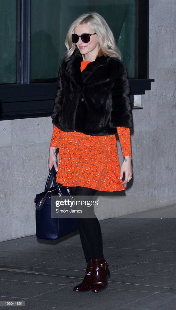Fearne Cotton sighting at the BBC on December 13, 2013 in London, England.