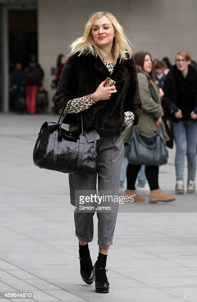 Fearne Cotton sighting at the BBC on November 27 2014 in London England