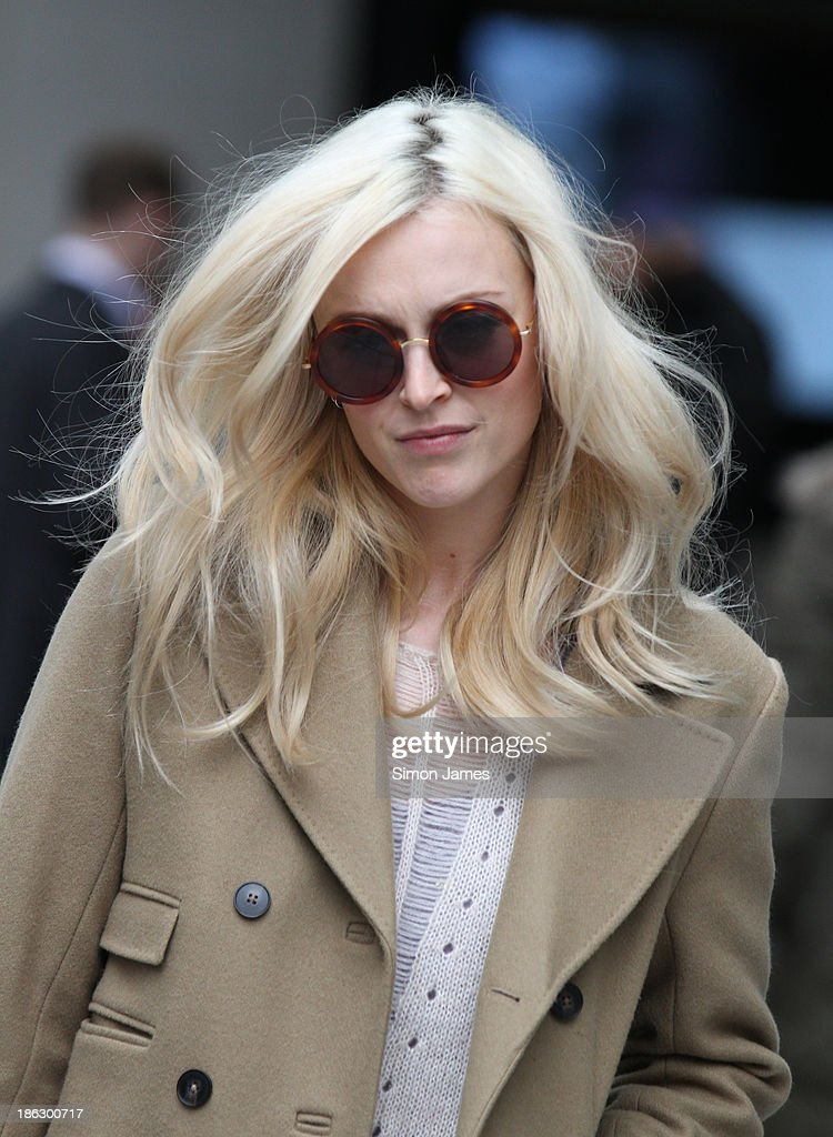 Fearne Cotton sighting at the BBC on October 30, 2013 in London, England.