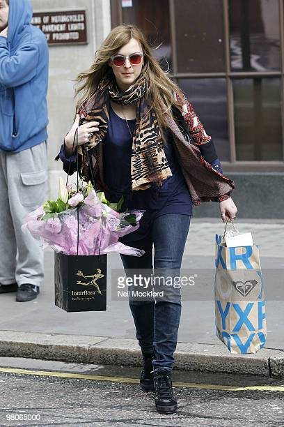 Fearne Cotton sighting on March 26 2010 in London England