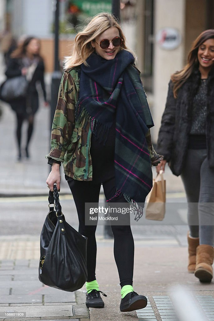 Fearne Cotton sighting on November 23, 2012 in London, England.