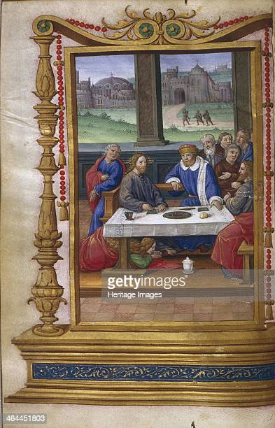 Feast in the House of Simon the Pharisee 15001550 Found in the collection of the The Huntington California