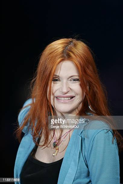 Feast Of The French Song On Tv Channel 2 On January 12Th 2005 In Paris France Axelle Red