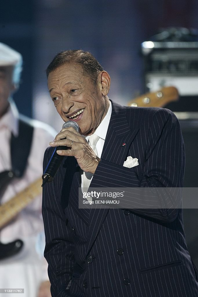 Feast Of The French Song On Tv Channel 2 On January 12Th 2005 In Paris France Henri Salvador