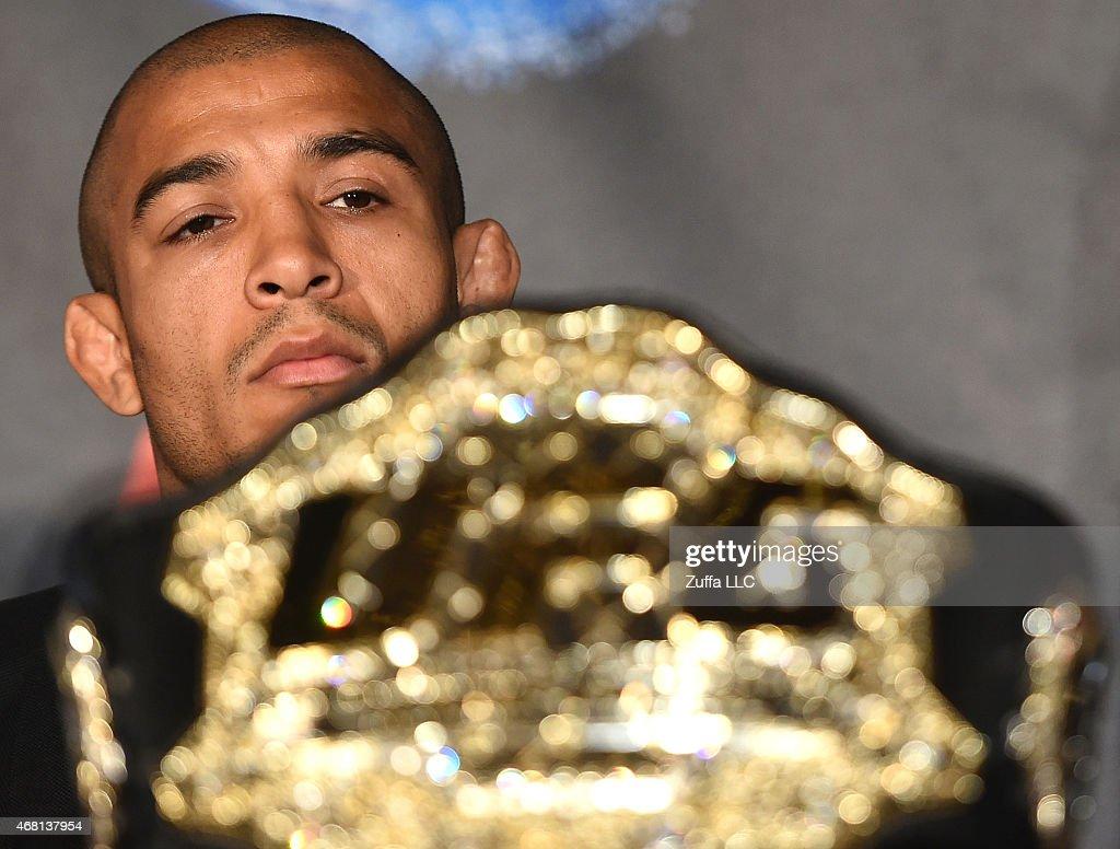 UFC 189 World Championship Press Tour - London