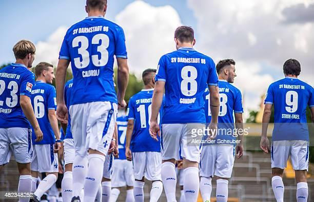 Feature during the team presentation of SV Darmstadt 98 at MerckStadion am Boellenfalltor on July 30 2015 in Darmstadt Germany