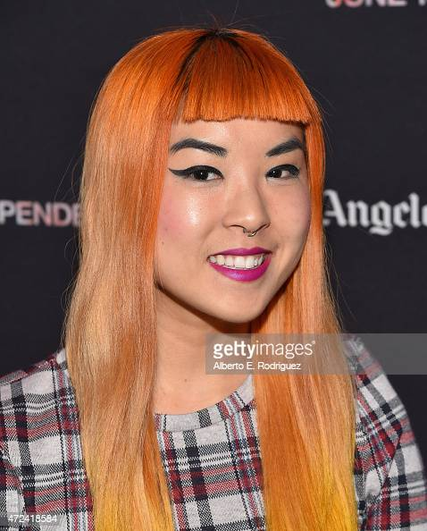 Feature Film Programmer So Yun Um attends The Film Independent Hosts LA Night at The Underground Museum on May 6 2015 in Los Angeles California