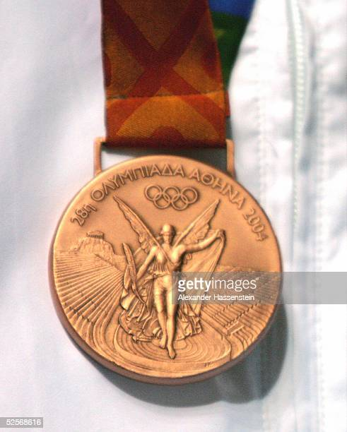 Feature / Medallien Olympische Spiele Athen 2004 Athen Bronze Medallie 190804