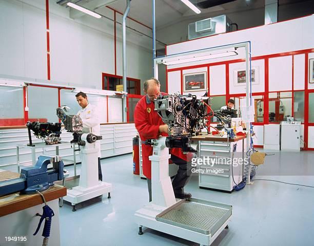 Feature on the Ferrari Formula One Factory producing the Ferrari F12000 car at Maranello in Italy Mandatory Credit Shell/Allsport