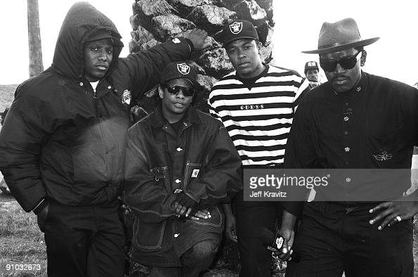 NWA featuring MC Ren Eazy E Dr Dre and Fab 5 Freddy