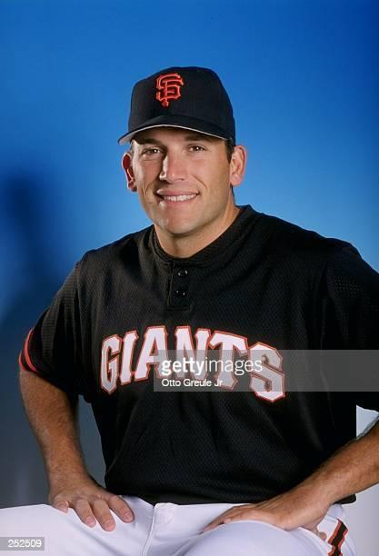 Doug Mirabelli of the San Francisco Giants poses for a portrait during Spring Training at the Scottsdale Stadium in Scottsdale Arizona Mandatory...