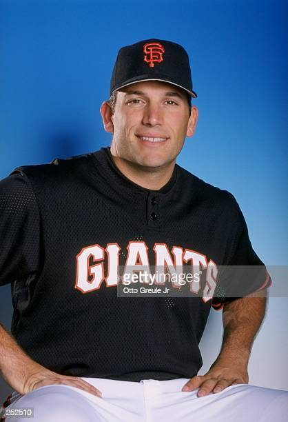 Doug Mirabelli of the San Francisco Giants poses for a portrait during Spring Training at the Scottsdale Stadium in Scottsdale Arizona Mandatory...