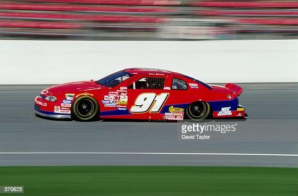Steve Grissom races his car during the Daytona 500 at the Daytona International Speedway in Daytona Florida Mandatory Credit David Taylor /Allsport