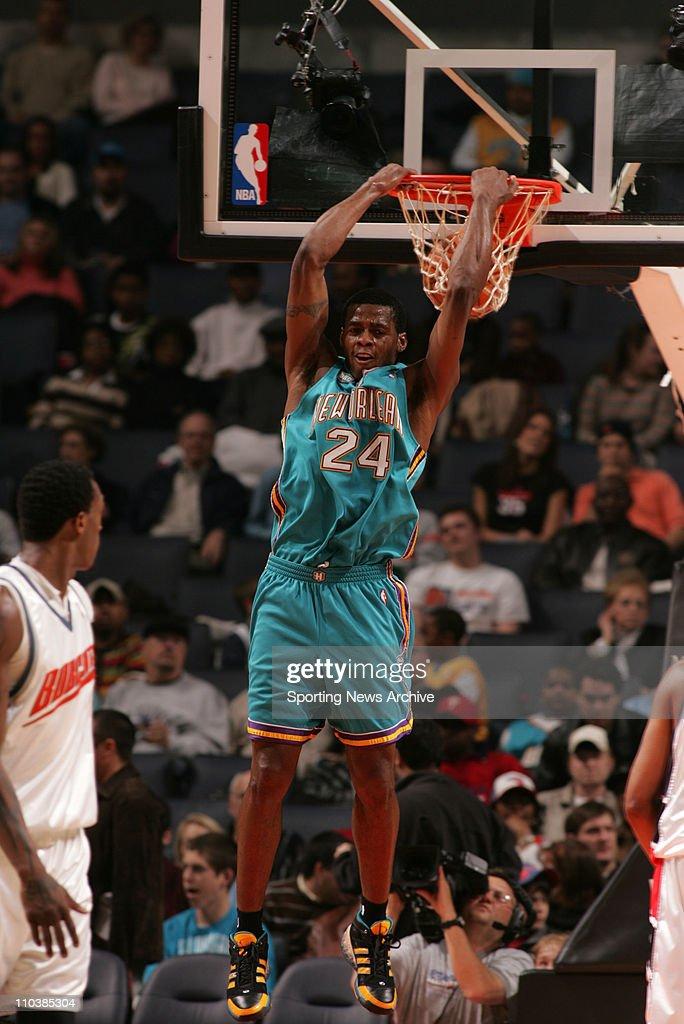 Feb 20, 2007 - Charlotte, NC, USA - New Orleans/Oklahoma City Hornets DESMOND MASON against Charlotte Bobcats on Feb. 20, 2007, at the Charlotte Bobcats Arena in Charlotte, NC. The Bobcats won 104-100.