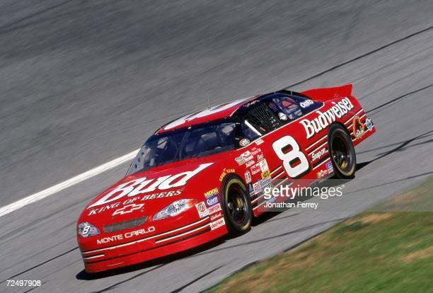 Dale Earnhardt Jr is in action during Daytona Speedweeks at the Daytona International Speedway in Daytona Beach Florida Mandatory Credit Jon Ferrey...