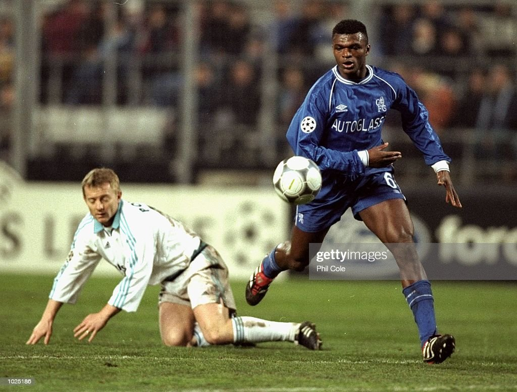 Marcel Desailly of Chelsea