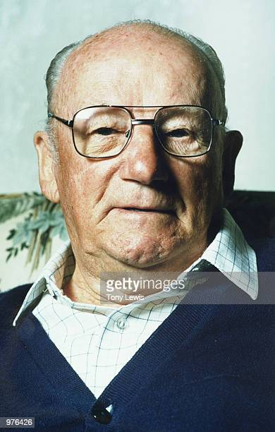 A 1993 portrait of Sir Donald Bradman at his home in Adelaide Mandatory Credit Tony Lewis/ALLSPORT