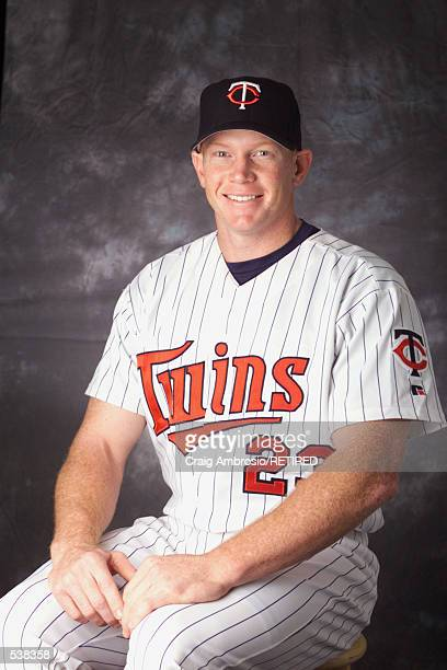 Bobby Kielty of the Minnesota Twins poses during media day at Lee County Sports Complex in Ft Myers Florida DIGITAL IMAGE Manditory Credit Craig...
