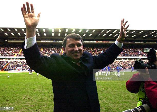 Graham Taylor the new manager of Aston Villa before the Aston Villa v Chelsea FA Barclaycard Premiership at Villa Park Birmingham DIGITAL IMAGE...