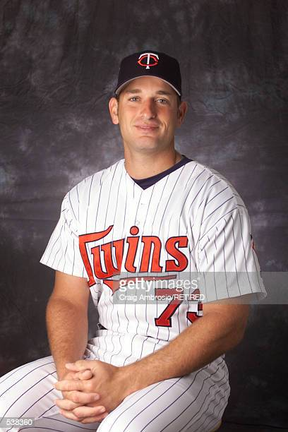 Jeff Smith of the Minnesota Twins poses during media day at Lee County Sports Complex in Ft Myers Florida DIGITAL IMAGE Manditory Credit Craig...