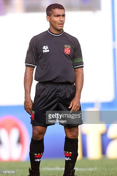 Romario of Vasco Da Gama in action during the RioSao Paulo Cup match between Sao Caetano an Vasco Da Gama played at the Anacleto Campanela Satdium...