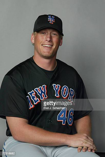 Tyler Walker of the New York Mets posses for Spring Training Picture Day at Thomas J White Stadium in Port St Lucie Florida DIGITAL IMAGE Mandatory...