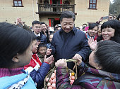 NANCHANG Feb 3 2016 Chinese President Xi Jinping also general secretary of the Communist Party of China Central Committee and chairman of the Central...