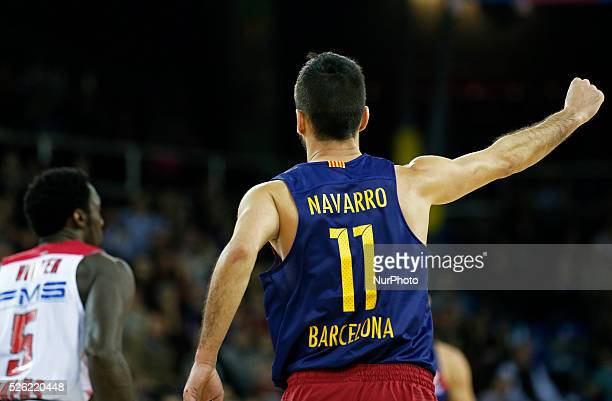 Juan Carlos Navarro during the match beetwen FC Barcelona and Olympiakos corresponding to the week 8 of the Top 16 of the basketball Euroleague on...