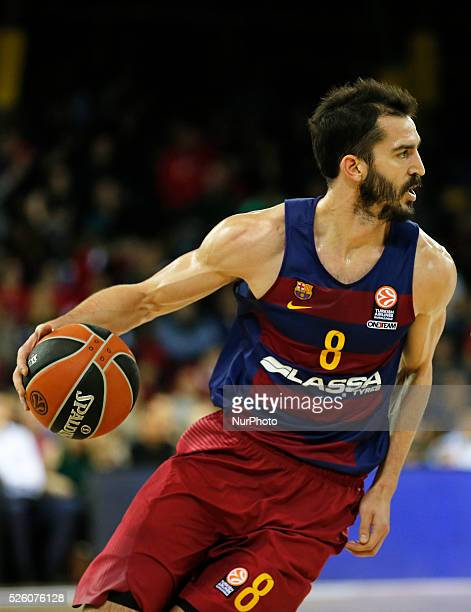 Pau Ribas during the match between FC Barcelona and Zalgiris Kaunas corresponding to que week 7 of the Top 16 of the Euroleague played at the Palau...