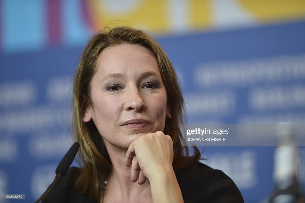 A February 15 2013 file photo shows French director Emmanuelle Bercot addressing a press conference for the film 'On My Way' competing in the 63rd...