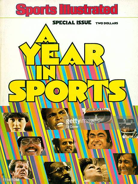 February 17 1977 Sports Illustrated CoverSports A Year in Sports Issue Illustration of Special Issue painting by Art Department Top Row Figure...