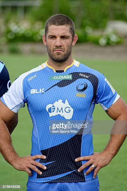 Western Force captain Matt Hodgson pictured during the 2016 Asteron Life Super Rugby Media Launch event at Wet'n'Wild Sydney in NSW Australia