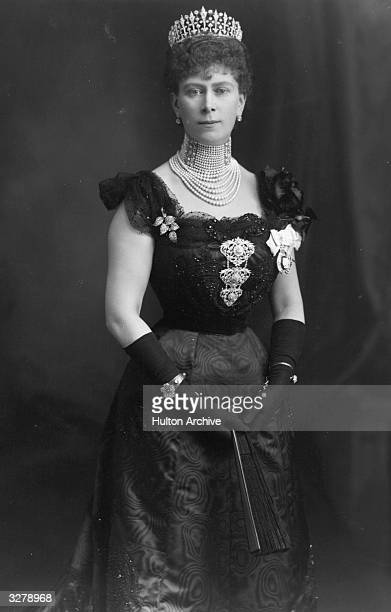 Mary of Teck formerly Princess Victoria Mary Augusta Louise Olga Pauline Claudine Agnes of Teck who married Prince George in 1893 to become Queen...