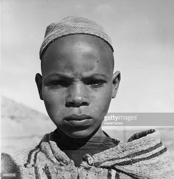 The face of a young Moroccan boy Original Publication Picture Post 8342 Morocco unpub