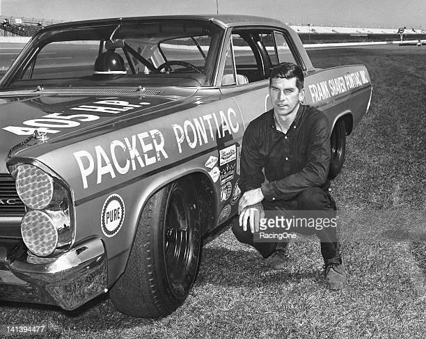 Paul Goldsmith drove this Ray Nichelsowned Pontiac at Daytona International Speedway After finishing second in his qualifying race a broken piston...