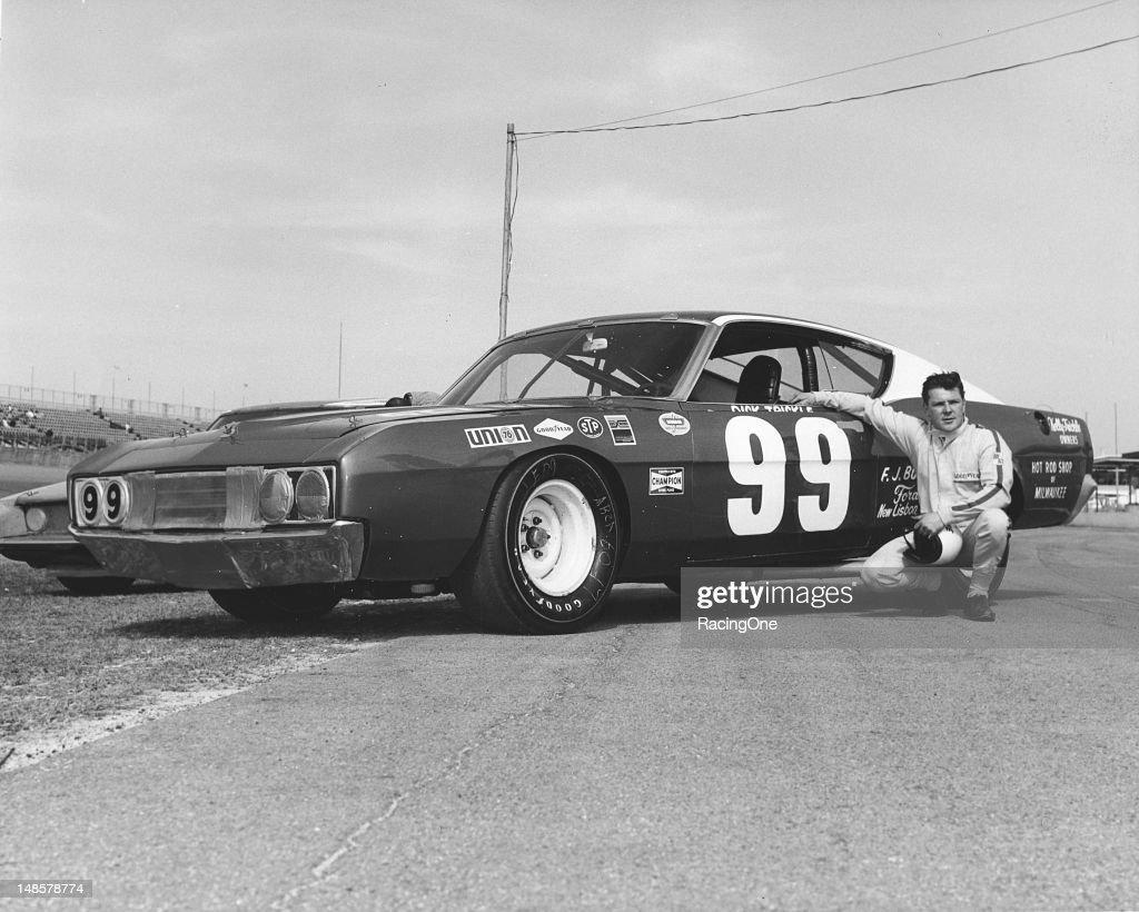 Dick Trickle of Wisconsin Rapids, WI, ran this Ford Torino Talladega for car owner Francis Kelly in both the ARCA 300 and Daytona 500 NASCAR Cup races at Daytona International Speedway. Due to a number conflict, Trickle's team had to change the number on the car from 99 to 09 before they ran the events.