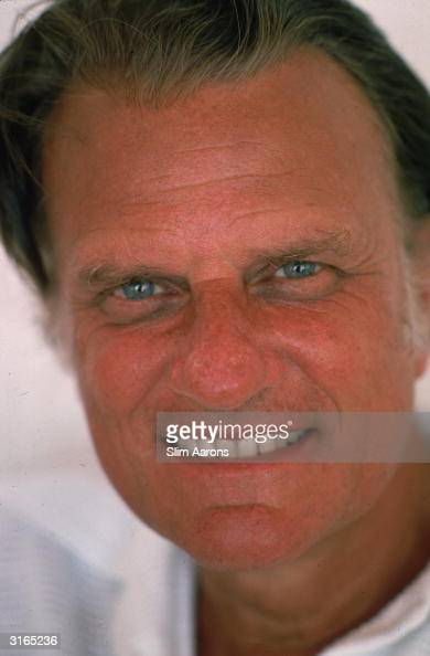 American evangelist and Fundamental Christian Billy Graham in Acapulco