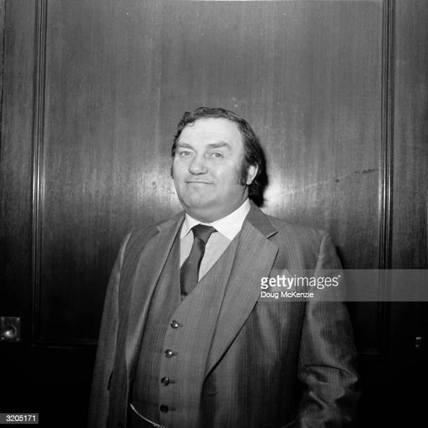 British comedian and writer Les Dawson