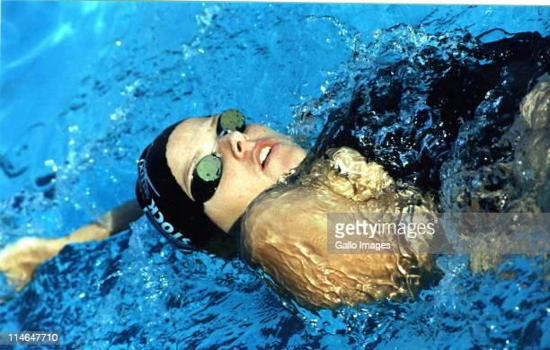 South African swimmer Charlene Wittstock