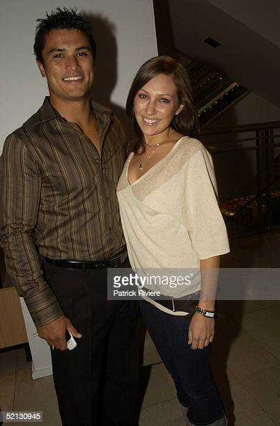17 February 2004 Craig Wing and Zoe Foster at the Autumn/Winter 2004 season showcase for Australia's leading fashion designers and International...