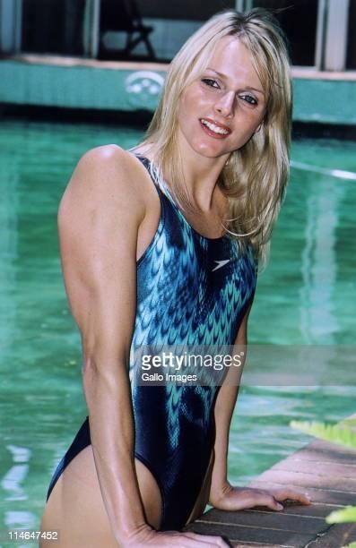February 2006 South African swimmer Charlene Wittstock